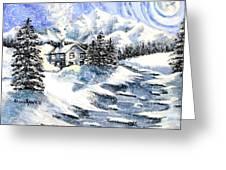 Snowed In Greeting Card by Shana Rowe