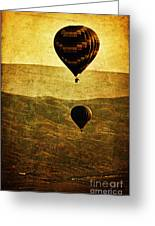 Soaring Heights Greeting Card by Andrew Paranavitana
