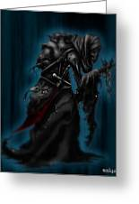 Solitiary Reaper Greeting Card by Rahul Chakraborty