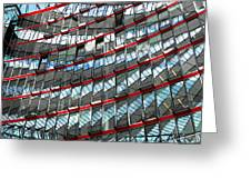 Sony Center - Berlin Greeting Card by Juergen Weiss