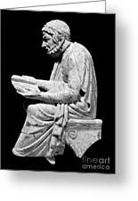 Sophocles (c496-406 B.c.) Greeting Card by Granger