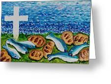 Soul Food Greeting Card by Caroline Street
