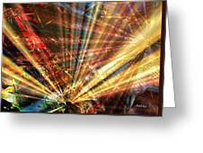 Sound Of Light Greeting Card by Kathy Sheeran