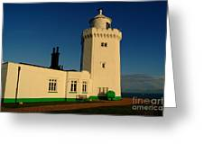 South Foreland Lighthouse Greeting Card by Serena Bowles