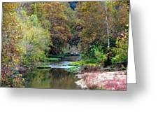 South Harpeth Greeting Card by Kay Sawyer