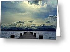 South Lake Tahoe Greeting Card by Brad Scott