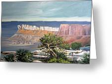 Southern Utah Butte Greeting Card by Matthew Chatterley