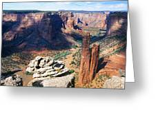 Southwest Canyon  Greeting Card by George Oze