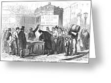 Spain: Abolitionists, 1869 Greeting Card by Granger