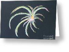 Sparkler Greeting Card by Alys Caviness-Gober