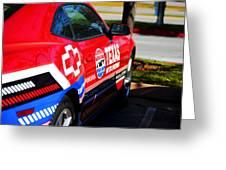 Speedway Camaro Greeting Card by Malania Hammer