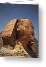 Sphinx Petra Greeting Card by Nafets Nuarb