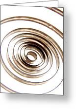 Spiral Greeting Card by Bernard Jaubert