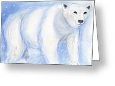 Spirit Bear Greeting Card by Janelle Schneider