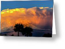 Spirit In The Clouds Greeting Card by Shannon Harrington