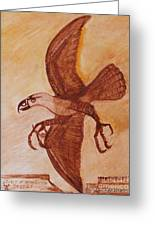 Spirit Of American Desert Greeting Card by Anna Folkartanna Maciejewska-Dyba