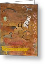 Spirits- Souls Of All Living Greeting Card by Mordecai Colodner
