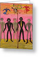 Sports Greeting Card by Gregory Davis