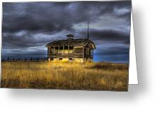 Spot On The School House Greeting Card by Jean Noren