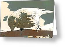 Spring Bird Greeting Card by Artist and Photographer Laura Wrede