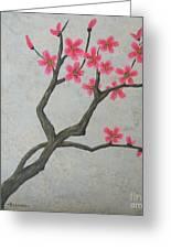 Spring Blossoms Greeting Card by Billinda Brandli DeVillez