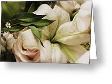 Spring Flowers Greeting Card by Anna Villarreal Garbis