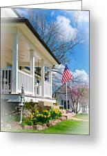 Spring In America Greeting Card by Christine Belt