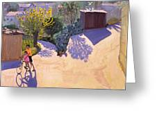 Spring In Cyprus Greeting Card by Andrew Macara