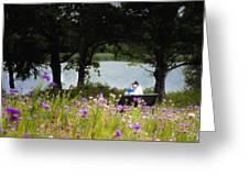 Spring Love Greeting Card by Tamyra Ayles