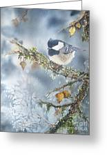 Spring Thaw Greeting Card by Patricia Pushaw