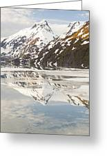 Spring Time On A Mountain Lake Greeting Card by Tim Grams