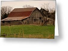 Springtime Barn Greeting Card by Marty Koch