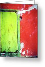 Square Watermelon Greeting Card by Inessa Burlak
