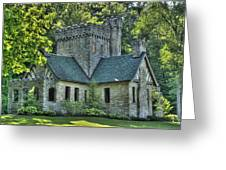 Squires Castle Greeting Card by Rick Buzalewski