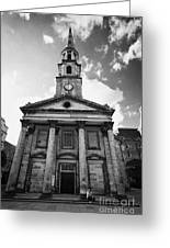 St Andrew And Saint George Church George Street Edinburgh Scotland Uk United Kingdom Greeting Card by Joe Fox