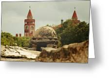 St. Augustine Castillo De San Marcos  Greeting Card by Toni Hopper