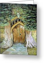 St Edwards Church Greeting Card by Pam Usher