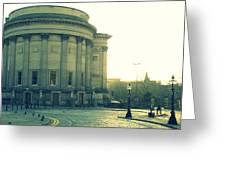 St Georges Hall Liverpool Greeting Card by Nomad Art And  Design