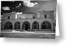 St Josephs Convent And Catholic Church St Joseph De L Apparition Larnaca Republic Cyprus Greeting Card by Joe Fox