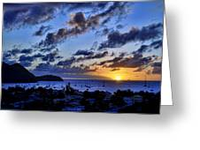 St Lucia Gros Islet Greeting Card by J R Baldini M Photog Cr