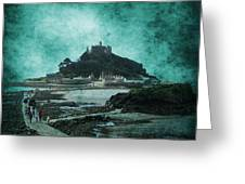St Michaels Mount Greeting Card by Svetlana Sewell