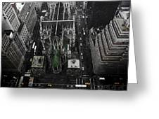 St. Patricks Cathedral Greeting Card by Marcel Krasner