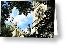 St Paul Cathedral Greeting Card by Thomas R Fletcher