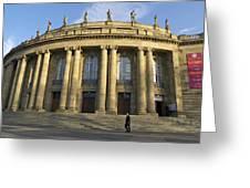 Staatstheater State Theater Stuttgart Germany Greeting Card by Matthias Hauser
