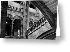 Stairs And Arches Greeting Card by Martin Williams