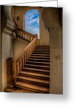 Stairway To Heaven Greeting Card by Adrian Evans