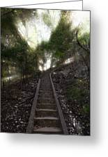 Stairway To Heaven Greeting Card by Ricky Barnard