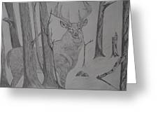 Stand Off Greeting Card by Gerald Strine