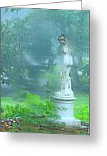 Standing In The Rain Greeting Card by Mindy Newman