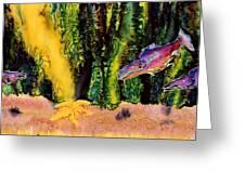 Star Fish Greeting Card by Carolyn Doe